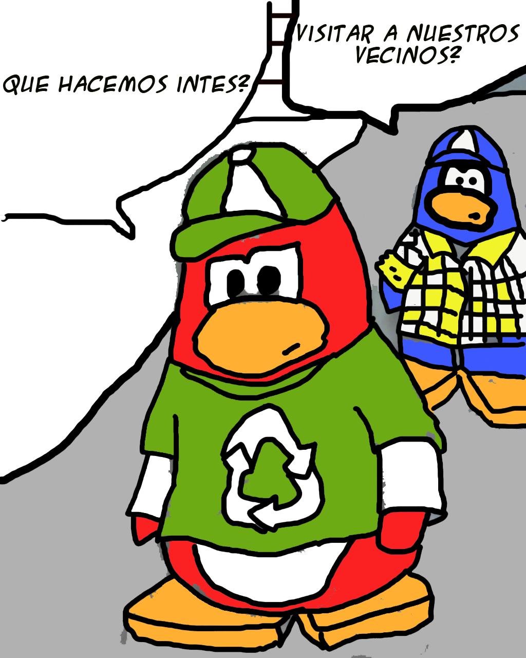 Excepcional Club Pingüino Para Colorear Modelo - Enmarcado Para ...